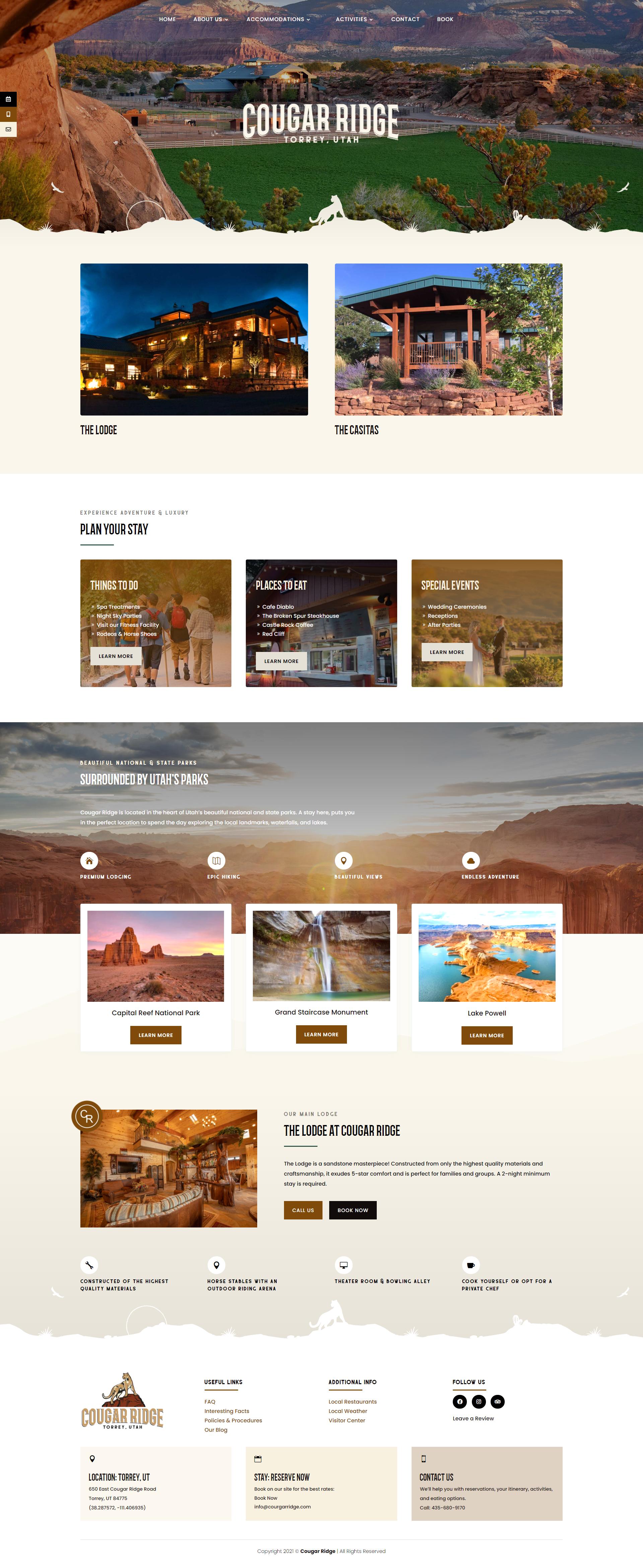 Website Design Client